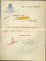 119 MILIZIA NAZIONALE COMANDO GENERALE 1938  ,GEN. AURO D'ALBA , POETA , FUTURISTA - Vecchi Documenti