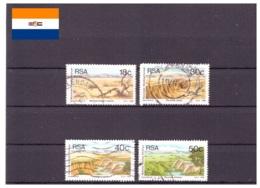 Afrique Du Sud 1989 - Oblitéré - Paysages - Michel Nr. 771-774 Série Complète (rsa208) - Afrique Du Sud (1961-...)