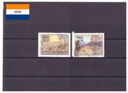 Afrique Du Sud 1989 - Oblitéré - Peinture - Michel Nr. 780-781 (rsa210) - Afrique Du Sud (1961-...)