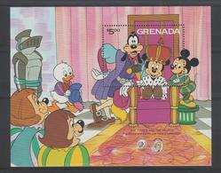 Disney Grenade Grenada 1985 BF 139 ** MNH - Disney