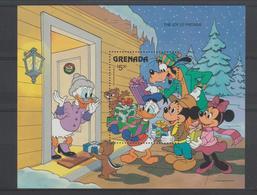Disney Grenade Grenada 1986 BF 156 ** MNH - Disney