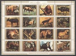 U061 UMM-AL-QIWAIN FAUNA ANIMALS 1SH MNH - Stamps
