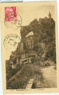 """Rocamadour 1948; Les Sanctuaires - Voyagé. (Les Cartes """"Geb"""") - Rocamadour"""