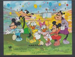 Disney Grenade Grenada 1988 BF 193 ** MNH - Disney