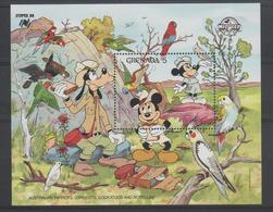 Disney Grenade Grenada 1988 BF 201 ** MNH - Disney