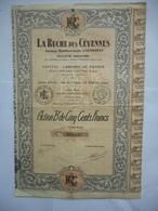 La RUCHE Des CEVENNES Le Vigan GARD  1925 - Industrie