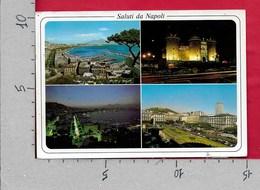 CARTOLINA VG ITALIA - Saluti Da NAPOLI - Vedutine Multivue - 10 X 15 - ANN. 1996 - Saluti Da.../ Gruss Aus...