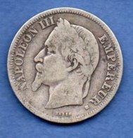 Napoléon III --  2 Francs 1868 BB  -  état  TB  -  Rare - I. 2 Franchi