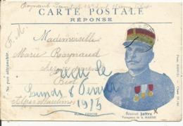 .General JOFFRE.....Correspondance Militaire....avec Portrait....en 1915... - Militaria