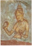 Fresco At Sigirya, 5th Century - Sri Lanka - Sri Lanka (Ceylon)