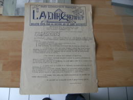 Tract Parti Communiste Avenir Cheminoy Gare Austerlitz Amelioration Transport 1970 - Dépliants Touristiques