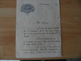 Lettre En Tete Illustree 1930 Base Aerienne Dijon - Documents Historiques
