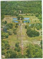 The Pleasure Gardens As Seen From The Summit Of Sigiriya  - Sri Lanka - Sri Lanka (Ceylon)