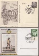 """Deutche Reich: Mi 762  / CP +  Mi P Type PP 137 ( 6pfg) Illustré """" RADIO """"(. Danzig / Tag Der Brief.. / 12.1.41- Luxus - Dantzig"""