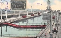 Panama - Canal / Belle Oblitération - 08 - USS Wisconsin - Panama