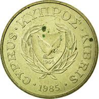 Monnaie, Chypre, Cent, 1985, TTB, Nickel-brass, KM:53.2 - Chypre
