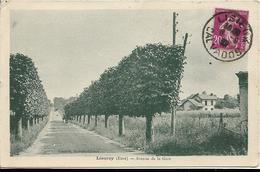 D27 - LIEUREY - AVENUE DE LA GARE - Charrette - Autres Communes