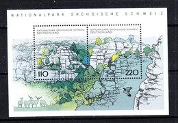 Germania Fed.   -  1998.  Nationalpark Sachsische Schweiz. MNH - Protezione Dell'Ambiente & Clima