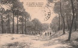 Vendée : SAINT-JEAN-de-MONTS : La Plage Des Demoiselles - L'avenue Des Soupirs - Saint Jean De Monts