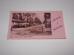 Viet Nam.Souvenir D Indochine.Saigon.Station D Auto Cars.Boulevard Kitchener. - Viêt-Nam