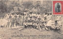 Paraguay / Belle Oblitération - 12 - Indios - Beau Cliché Animé - Paraguay