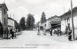 52 - Gourzon - La Grande Rue - France