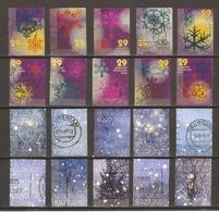 Pays-Bas 2006/10 - Noël - Petit Lot De 5 Séries Complètes - 3 Scans - Timbres