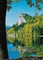 SLOVENIA - BLED - VIAGGIATA 1976 FRANCOBOLLO ASPORTATO - Slovenia