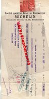 BRUXELLES- TRAITE SOCIETE ANONYME BELGE DU PNEUMATIQUE MICHELIN-BD. LEOPOLD II- M. GILIS & GUYOT 1927 - Cars