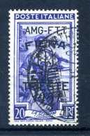 1951 AMG-FTT N.122 USATO - Usati
