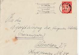Deutche Reich: Mi 785  / CP + Danzig19A (2x) + PAE 32  De 2.8.43-> Hannover+ 21.10.36-> Rensburg + 27.2.34 ² 21.11.34-> - Dantzig