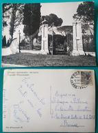 Cartolina Deposito Quadrupedi Ingresso Monumentale - Grosseto. Viaggiata 1949 - Grosseto