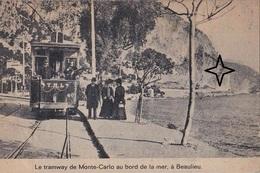 BEAULIEU-sur-MER  Arrêt Du Tramway De Monte Carlo. - Beaulieu-sur-Mer