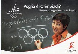 """Torino 2006 -. Voglia Di Olimpiade ?  """" Noi 2006 """" - Olympische Spiele"""