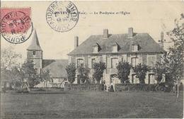 D27 - CONTEVILLE - LE PRESBYTERE ET L'EGLISE - Conches-en-Ouche