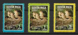COSTA RICA 1979 Sparrows - Sparrows
