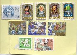 2 SCANNERS - TIMBRES - STAMPS - SELLOS PORTUGAL - LOTE DE TIMBRES DIVERS NEUFS A VOIR - PEDRO ÁLVARES CABRAL ET AUTRES - 1910-... Republic