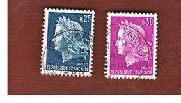 FRANCIA (FRANCE) -   SG 1767.1768  -    1967  MARIANNE: COMPLET SET OF 2    - USED - Usati