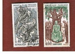 FRANCIA (FRANCE) -   SG 1770.1771  -    1967  HISTORY OF FRANCE    - USED - Frankreich