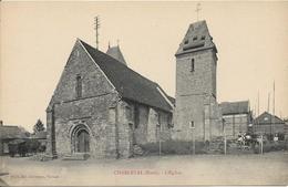 D27 - CHARLEVAL - L'EGLISE - Travaux Sur La Droite  - Calèche - France