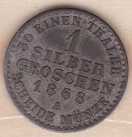 Royaume De Prusse 1 Silber Groschen 1868 A - Wilhelm I , KM# 485 - Small Coins & Other Subdivisions
