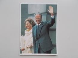 Bedankingskaart  Van Koning Boudewijn En Koningin Fabiola, Handschrift En Handtekening Fabiola 1993 - Familles Royales