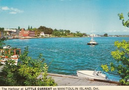 The Harbour At LITTLE CURRENT On MANITOULIN ISLAND, Ontario, 1940-60s - Ontario