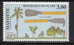 MAYOTTE - N°61 ** (1998) Le Chombo - Neufs