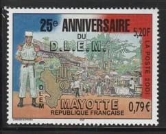 MAYOTTE -  N° 103 ** (2001) 25e Anniversaire Du D.L.E.M - Ungebraucht