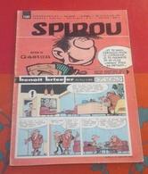 Spirou N° 1189 26 Janvier 1961 Rubrique Starter Victoire Française René Bonnet Dessins Jidéhem - Spirou Magazine
