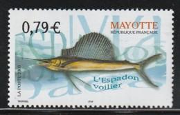 MAYOTTE -  N° 143 ** (2003) L'espadon Voilier - Mayote (1892-2011)