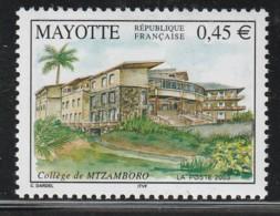 MAYOTTE -  N° 146 ** (2003) Collège De Mtzamboro - Nuovi