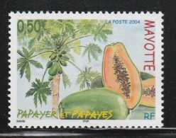 MAYOTTE -  N° 164 ** (2004) Le Papayer - Nuovi