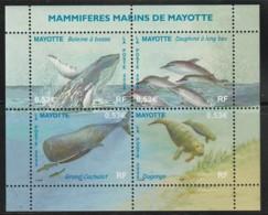 MAYOTTE -  N° 173/6 ** (2005) Mammifères Marins - Nuovi